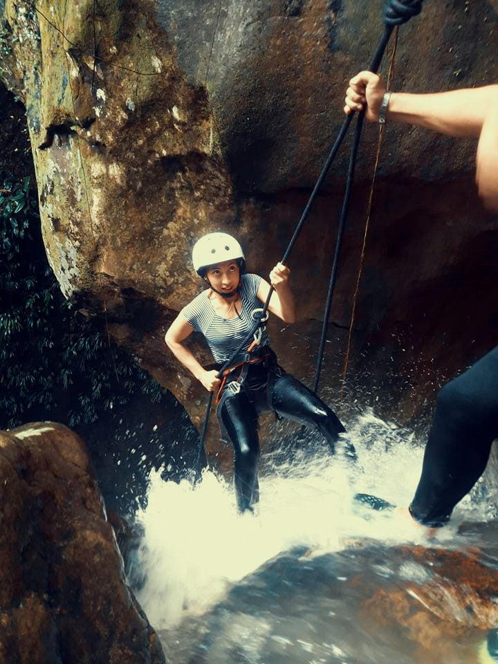Trekking y Torrentismo: Primero y Segundo descenso